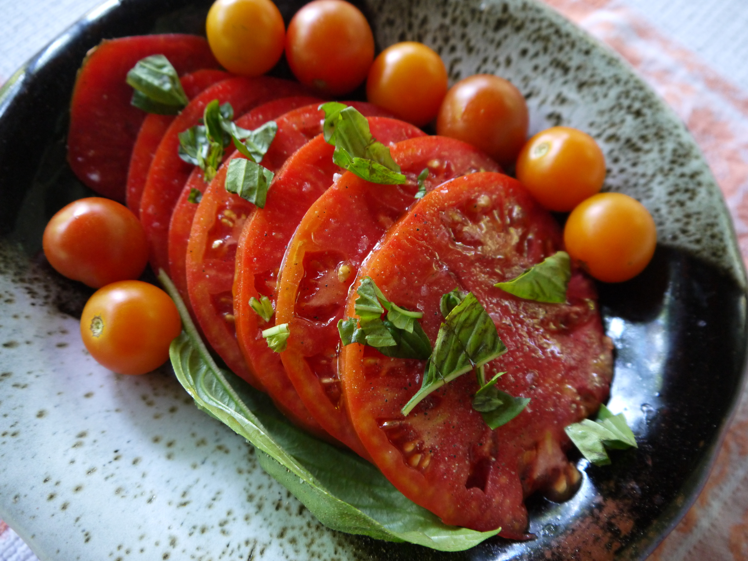 drizzled tomatoes.JPG