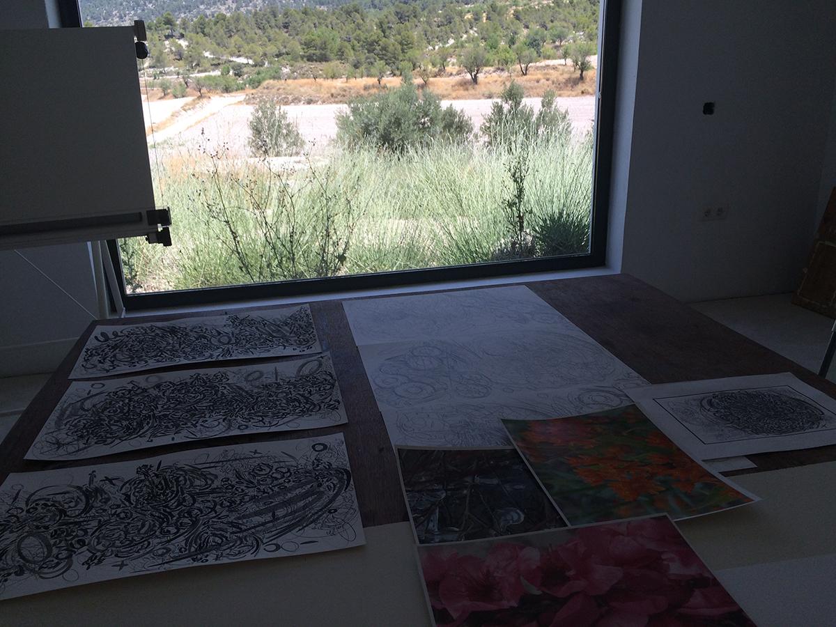 Studio at Cortijada Los Gázquez.