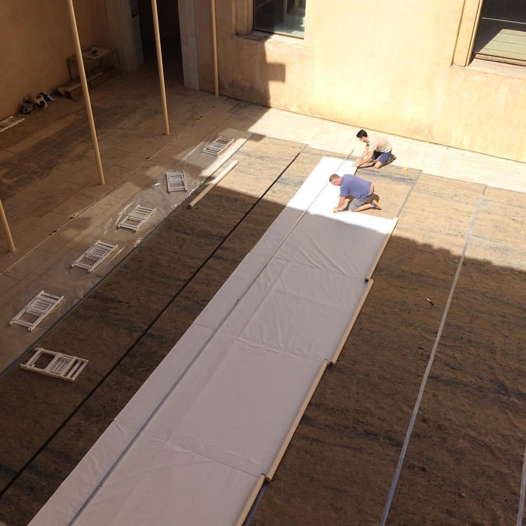 DSS preparing the floor.jpg