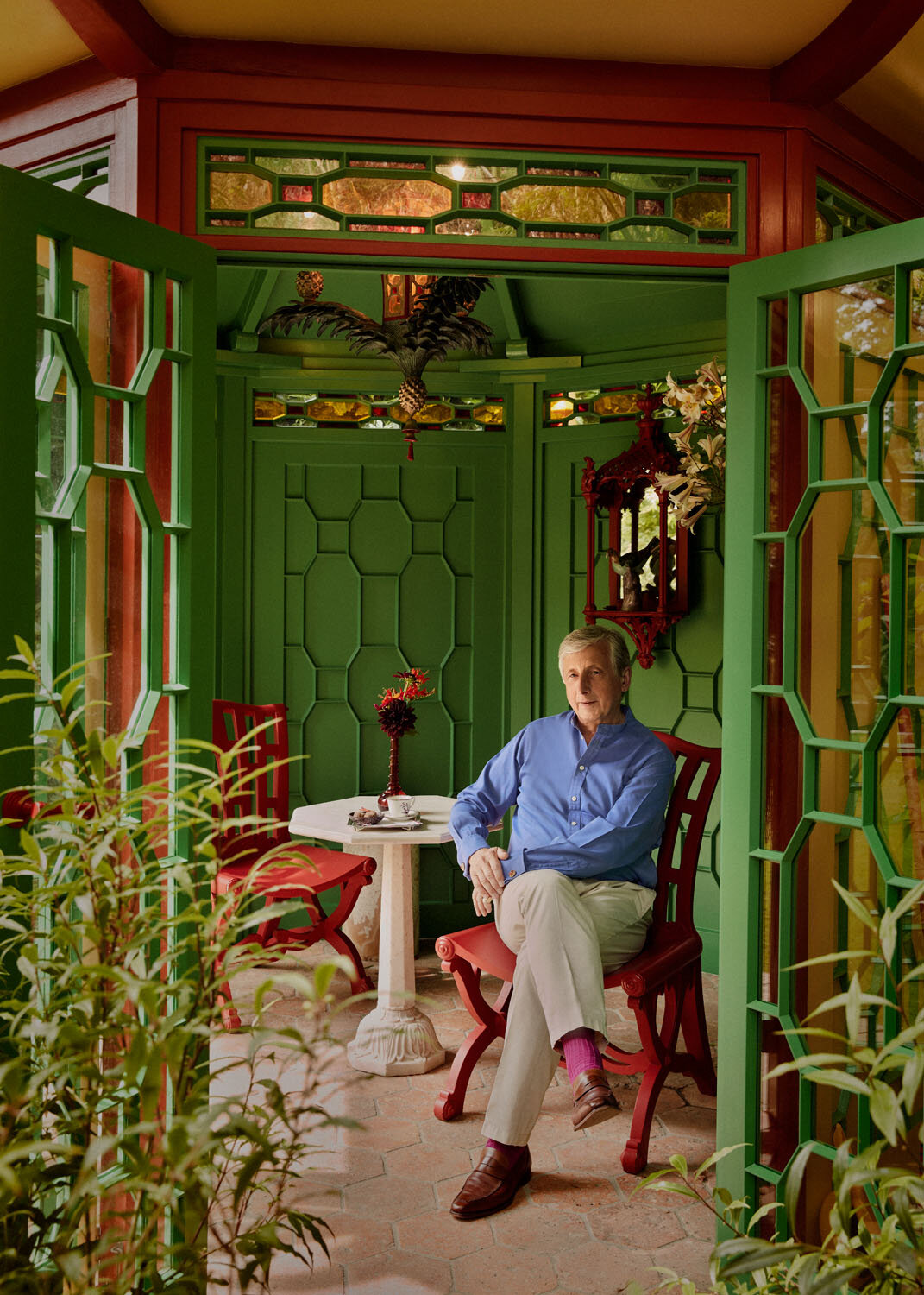 Philip Hewat-Jaboor for How To Spend It. - Last month I had the pleasure of photographing art advisor, collector and chairman of Masterpiece London, Philip Hewat-Jaboor in his Jersey home for the Financial Times How To Spend It.