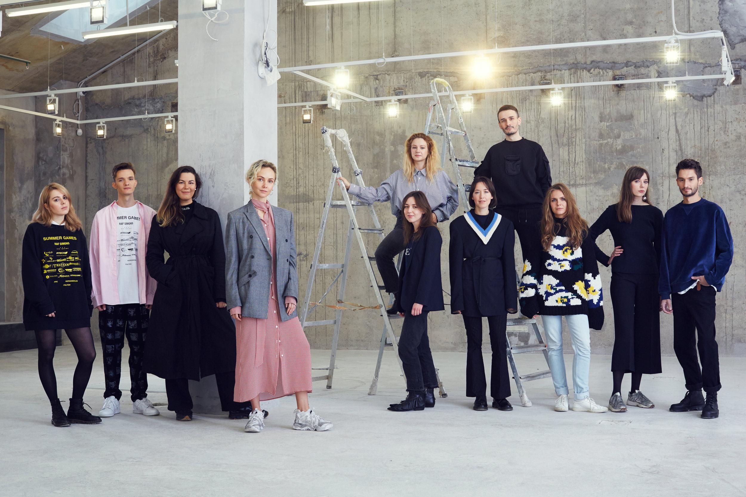 Olga Karput and KM20 team, Esquire