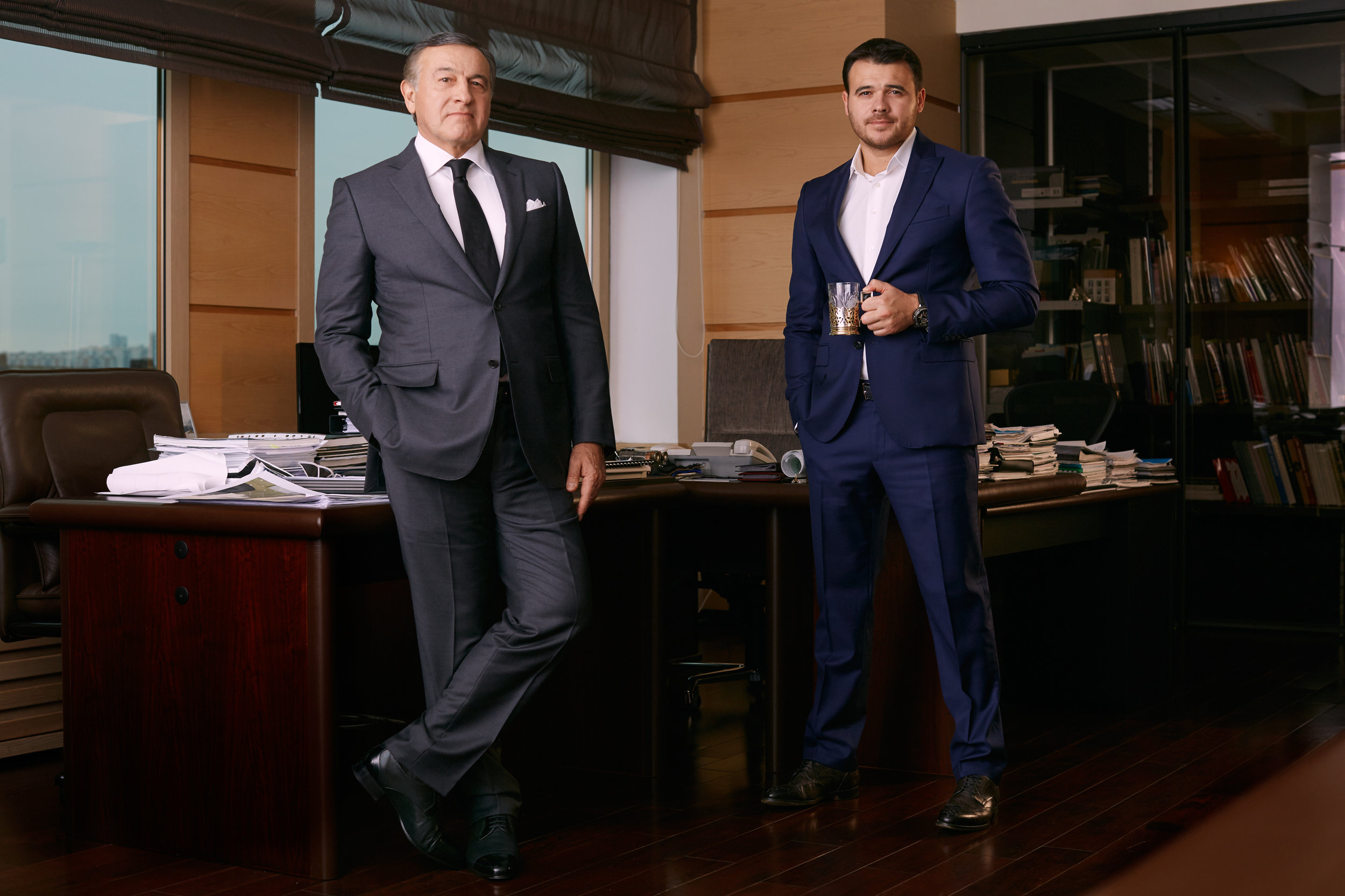 Araz and Emin Agalarov, Esquire