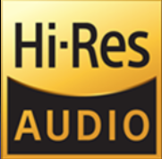 High Resolution Audio Logo created by the Consumer Technology Association