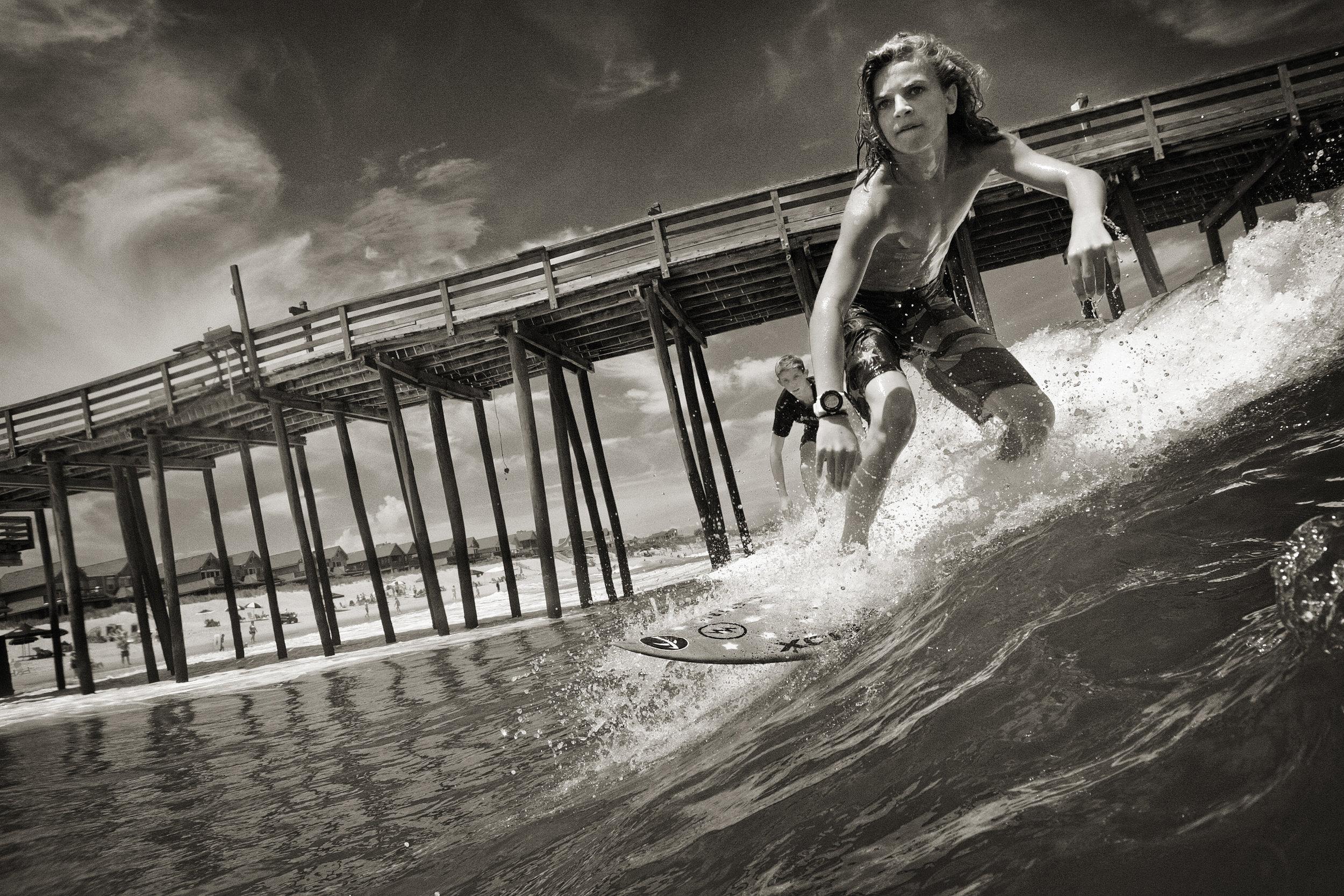 Stefan Turko, Charging the Pier