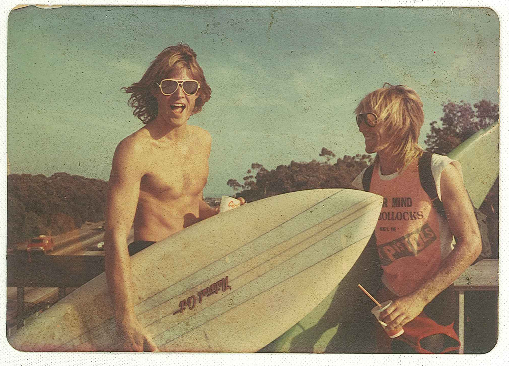 Richard and Walker, Trestles, 1978