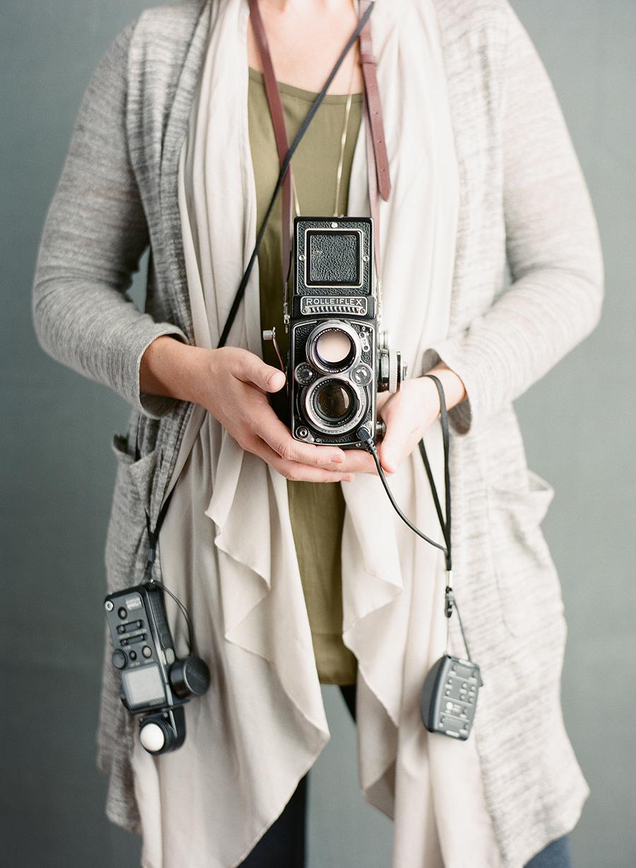 Film photography in studio by Sandra Coan