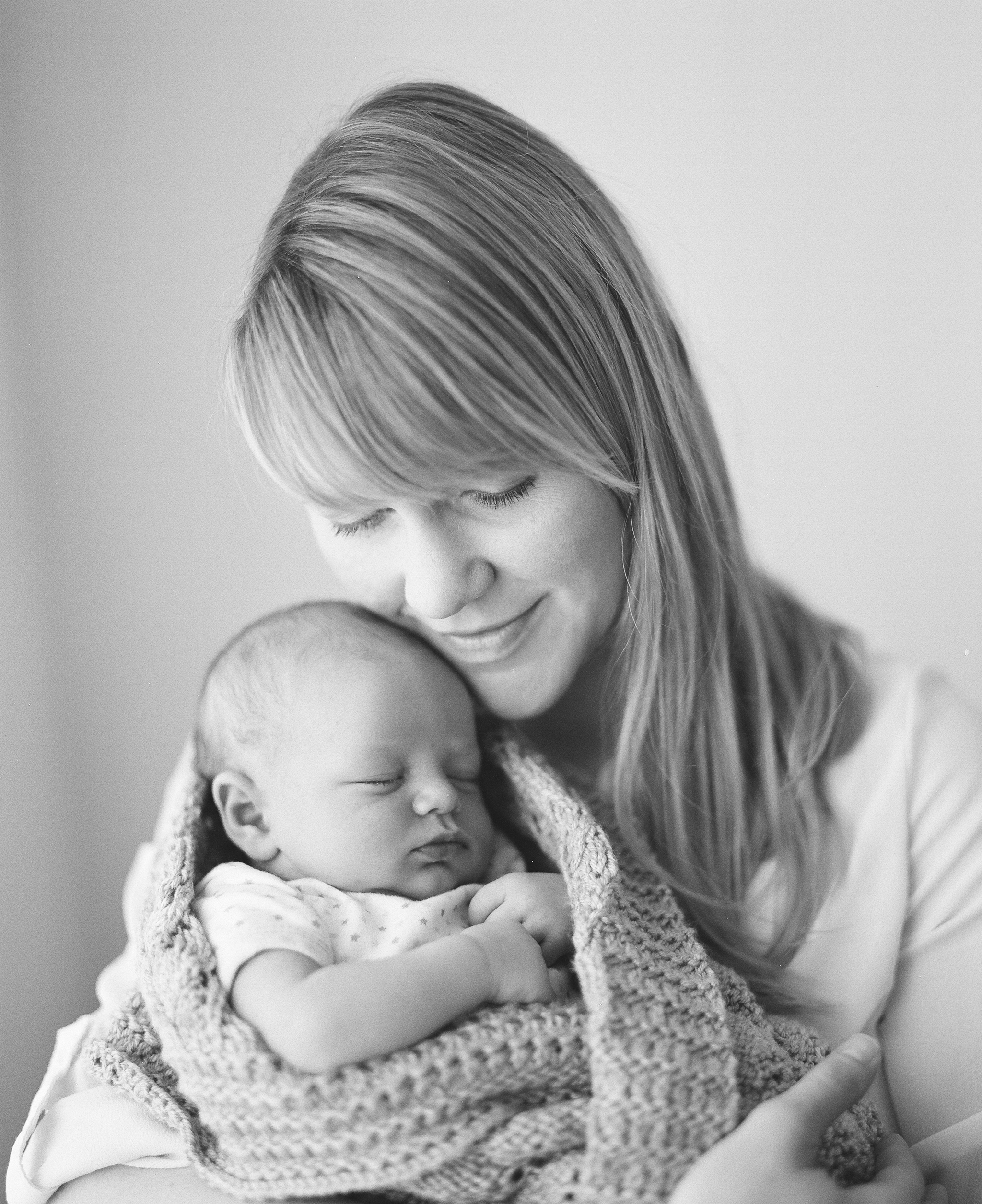 Newborn Photography Seattle, Sandra Coan, newborns on film