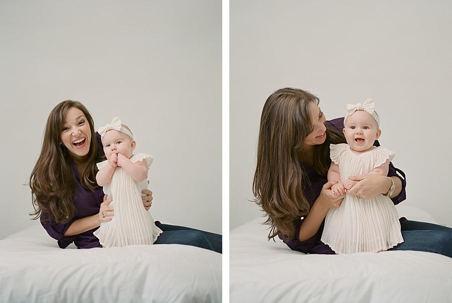 Seattle newborn photographer, Sandra Coan.  Newborns and families on film.