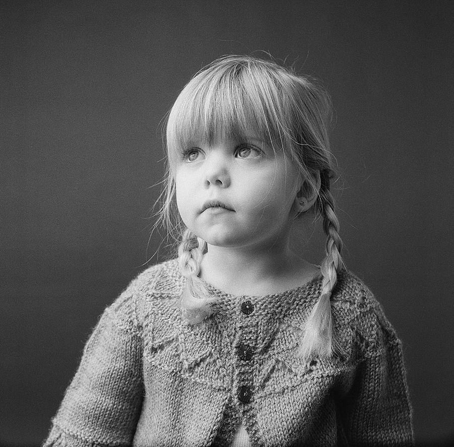 Sandra Coan, studio photography on film