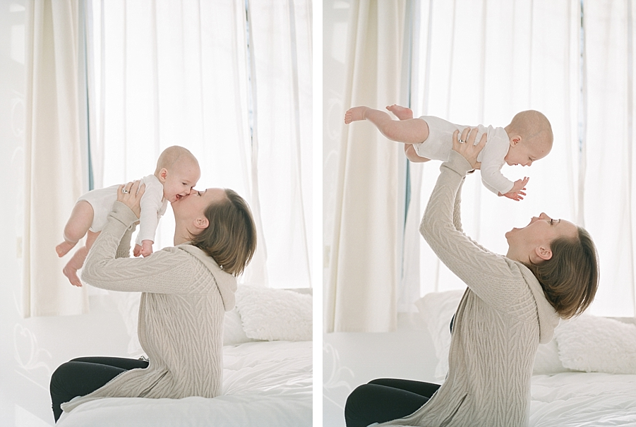 Seattle family photographer, Sandra Coan | Newborns and families | Film photography | Studio lighting for film photographers