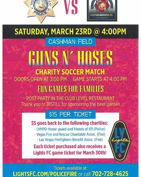 This Saturday at 4 PM!  #policevsfire #gunsvshoses #charity👮‍♂️👩‍🚒