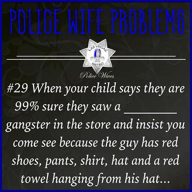 🤷🏻♀️😂 #police #policewifeproblem #policekid #obsesedwithdaddysjob #profiling #spotaganster