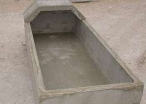 water-trough