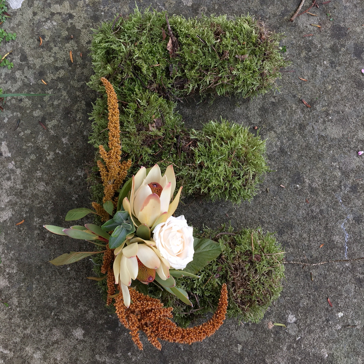 Funeral letter tribute Bloomolgie Florist London