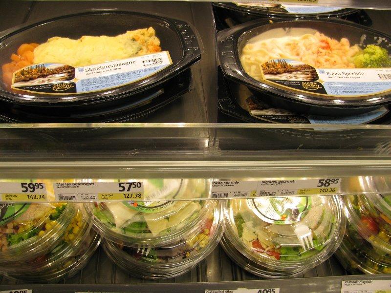 """Цены на готовые блюда в супермаркетах """" Соор """""""