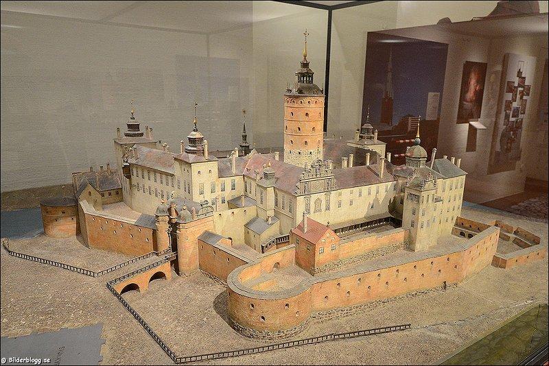 Такой макет Tre Kronor выставлен в Городском музее Стокгольма Источник: 4*