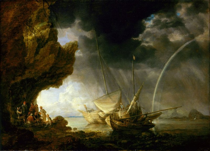 Вот вам флот кисти фламандского художника, например.Источник: 3*