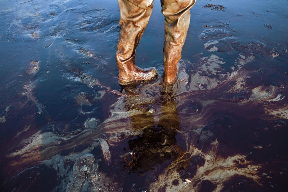 Aftermath of 2010 BP Oil Spill - More than 200 million gallons of crude oil was pumped into the Gulf of Mexico for a total of 87 days, making it the biggest oil spill in U.S. history.