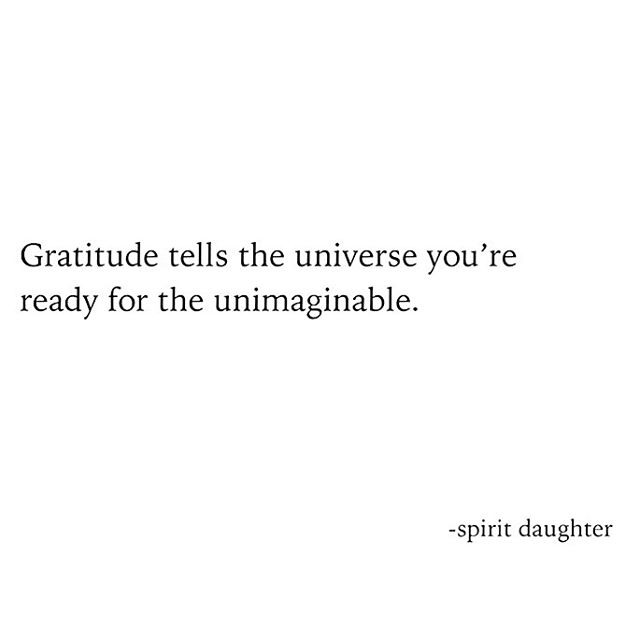 Tell us, what are YOU grateful for? 👇👇👇