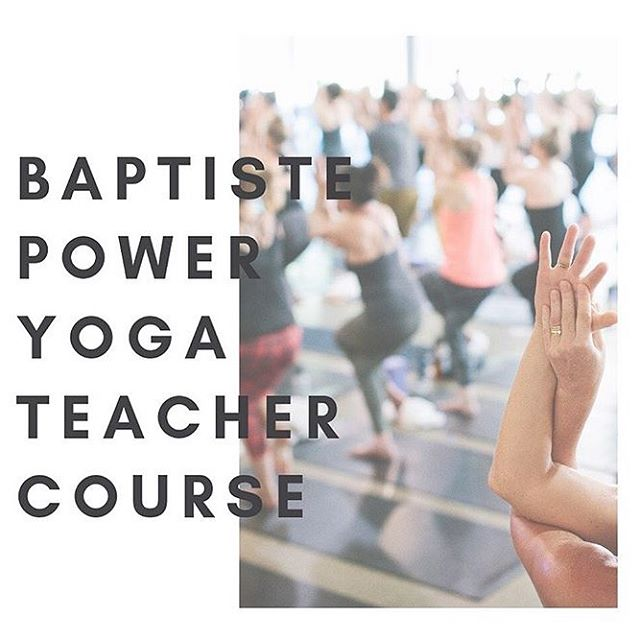 Want to bring new possibility into your teaching? Interested in becoming a @baptisteyoga teacher? 💥 Join @lucarichardsyoga for a 2 Day Teacher Course in Brooklyn, NYC 🔥💦 Learn more and sign up at www.baptisteyoga.com