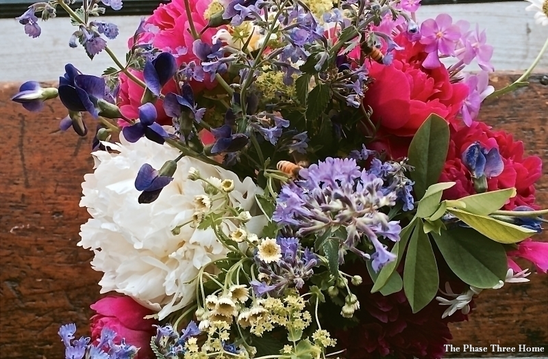 Elawa Farm's summer flower arrangement
