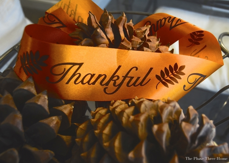 Thanksgiving ribbon