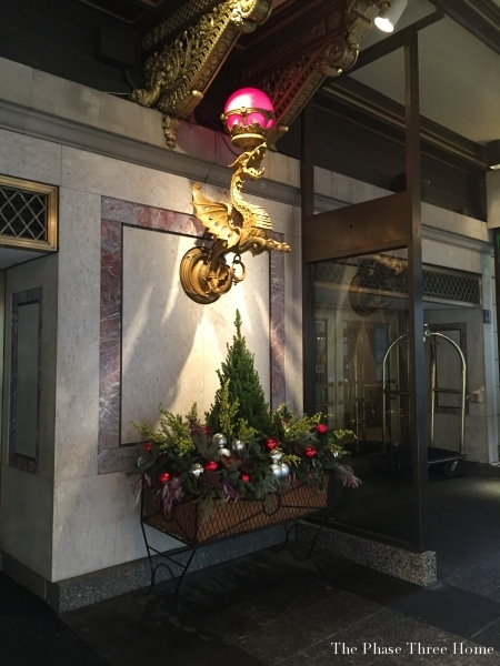 Drake Hotel entrance