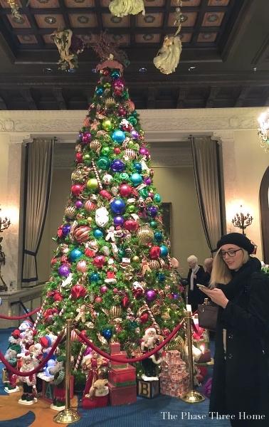Christmas tree-Drake Hotel