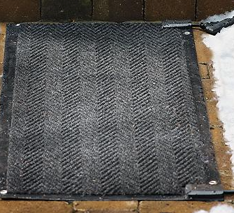 Frontage's Heated Outdoor Mats