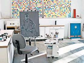 home art studio, photo-marvin joseph