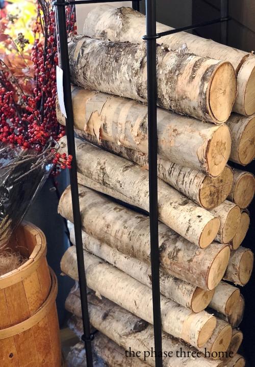 crate and barrel log holder