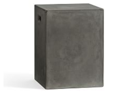 PB Concrete accent stool