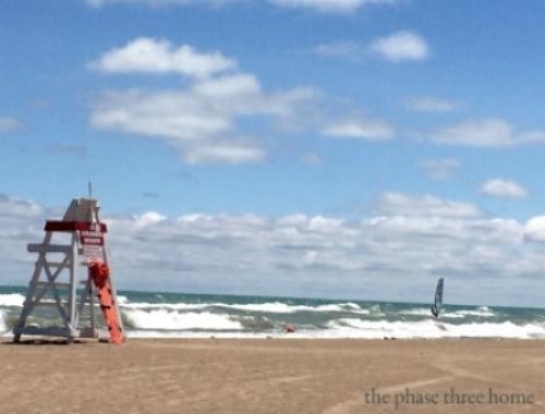 wilmette beach
