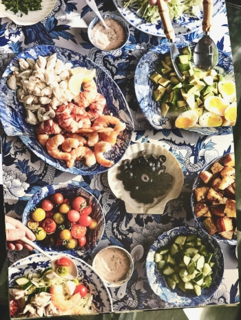 nate turner shrimp louise salad