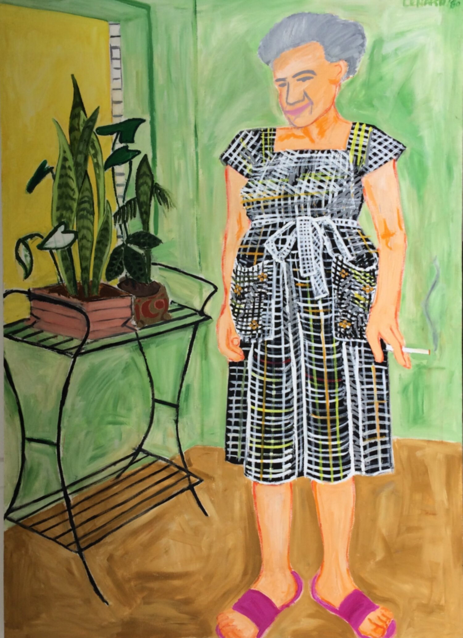 Grandmother With Plant Stand.jpeg