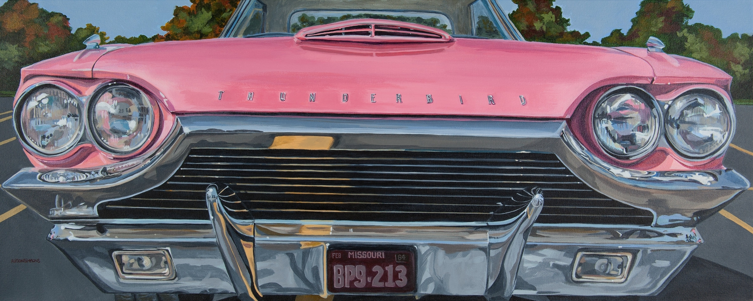 The Pink T-Bird, 1964 Thunderbird