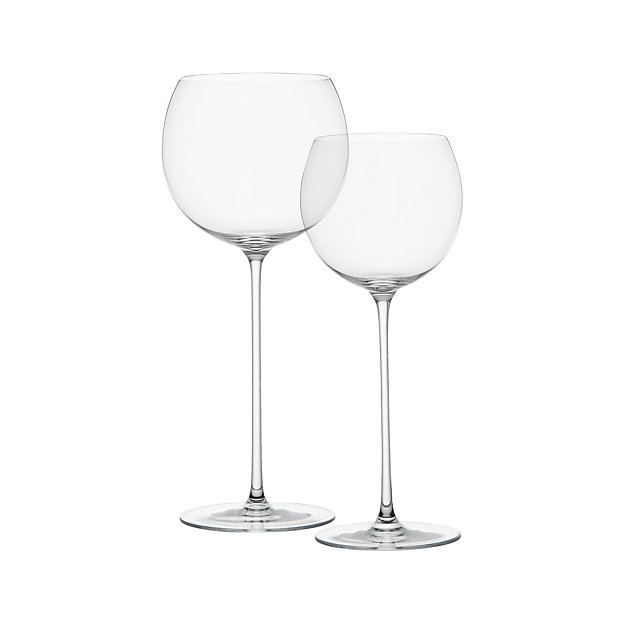 Camille Wine Glasses Crate and Barrel