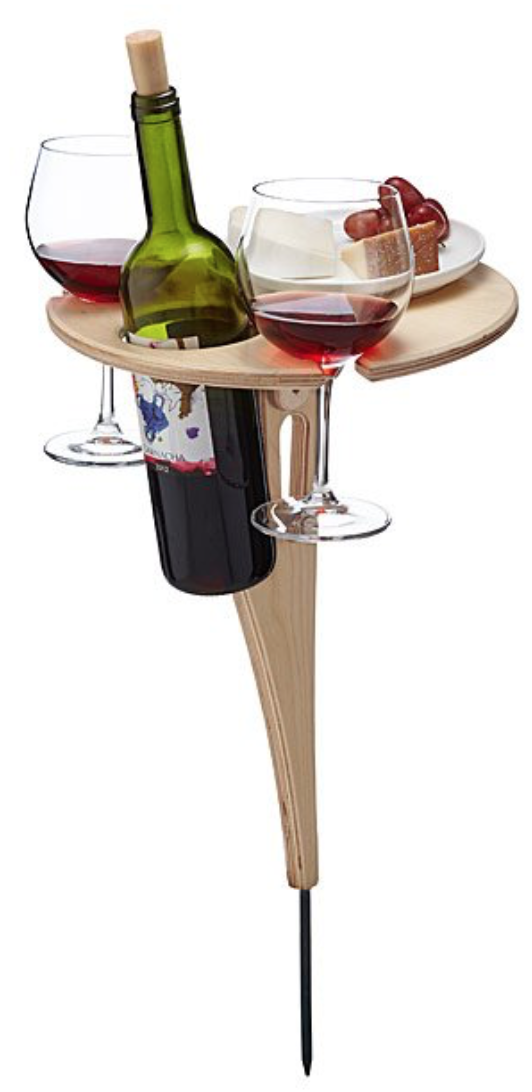 Outdoor Wine Table for Two by UncommonGoods