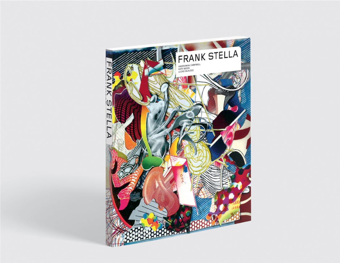 Phaidon's Frank Stella. available  here .