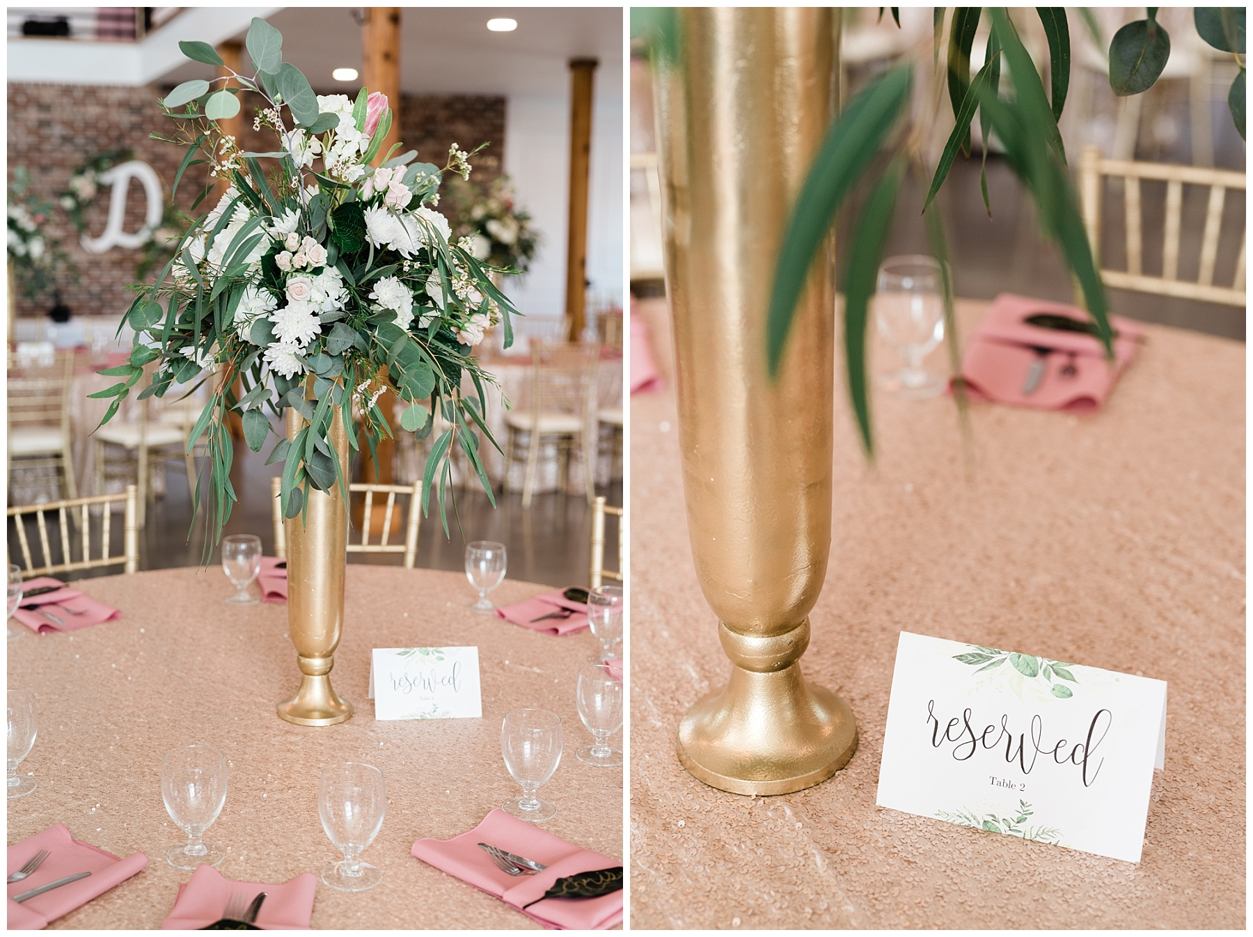 Stunning Heartfelt, Elegant, Fine Art, Chic, Outdoor Spring Wedding with Blush, Cream, Greenery, Rose Gold, and Sequins at Emerson Fields Venue by Kelsi Kliethermes Photography_0004.jpg