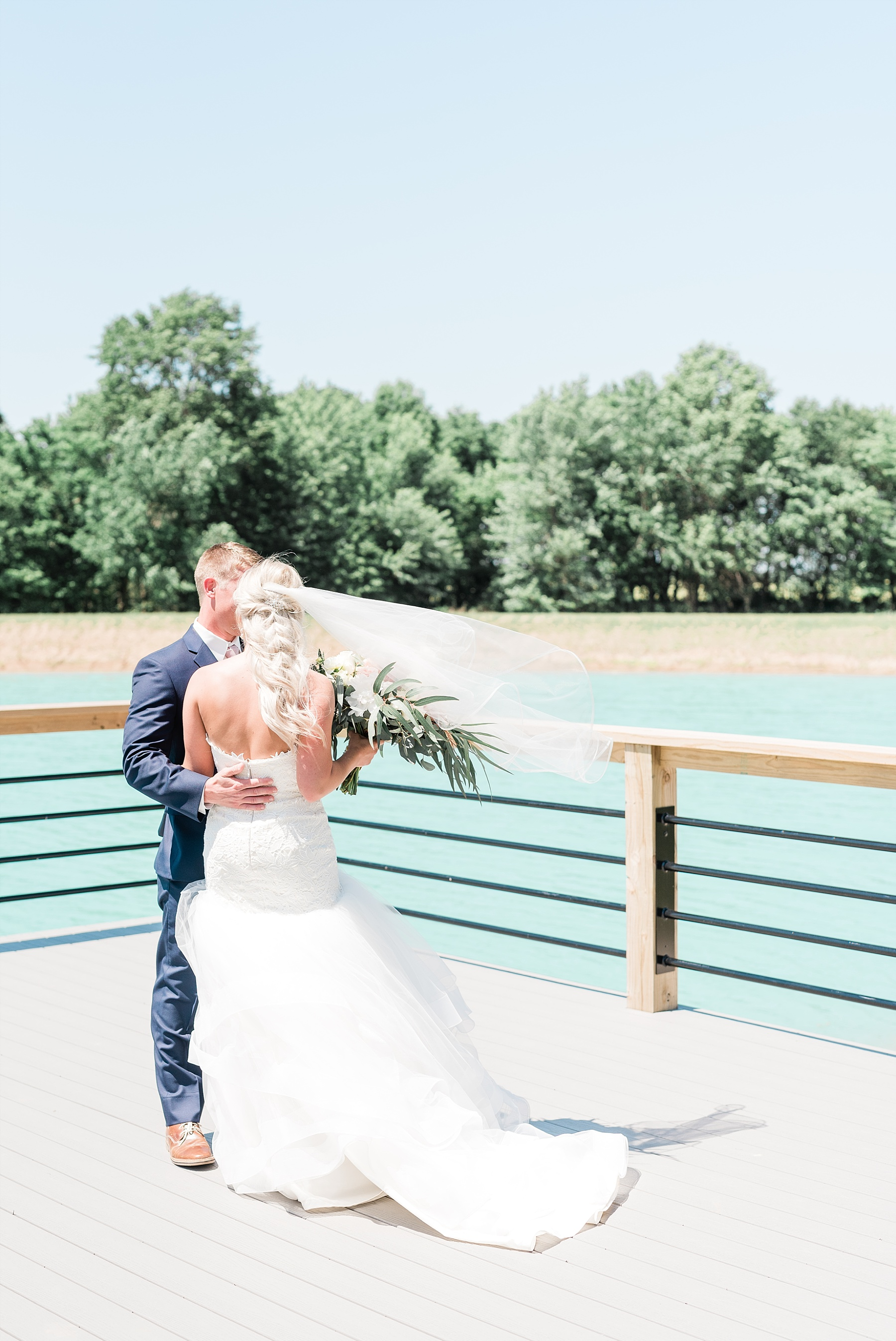 Stunning Heartfelt, Elegant, Fine Art, Chic, Outdoor Spring Wedding with Blush, Cream, Greenery, Rose Gold, and Sequins at Emerson Fields Venue by Kelsi Kliethermes Photography_0017.jpg