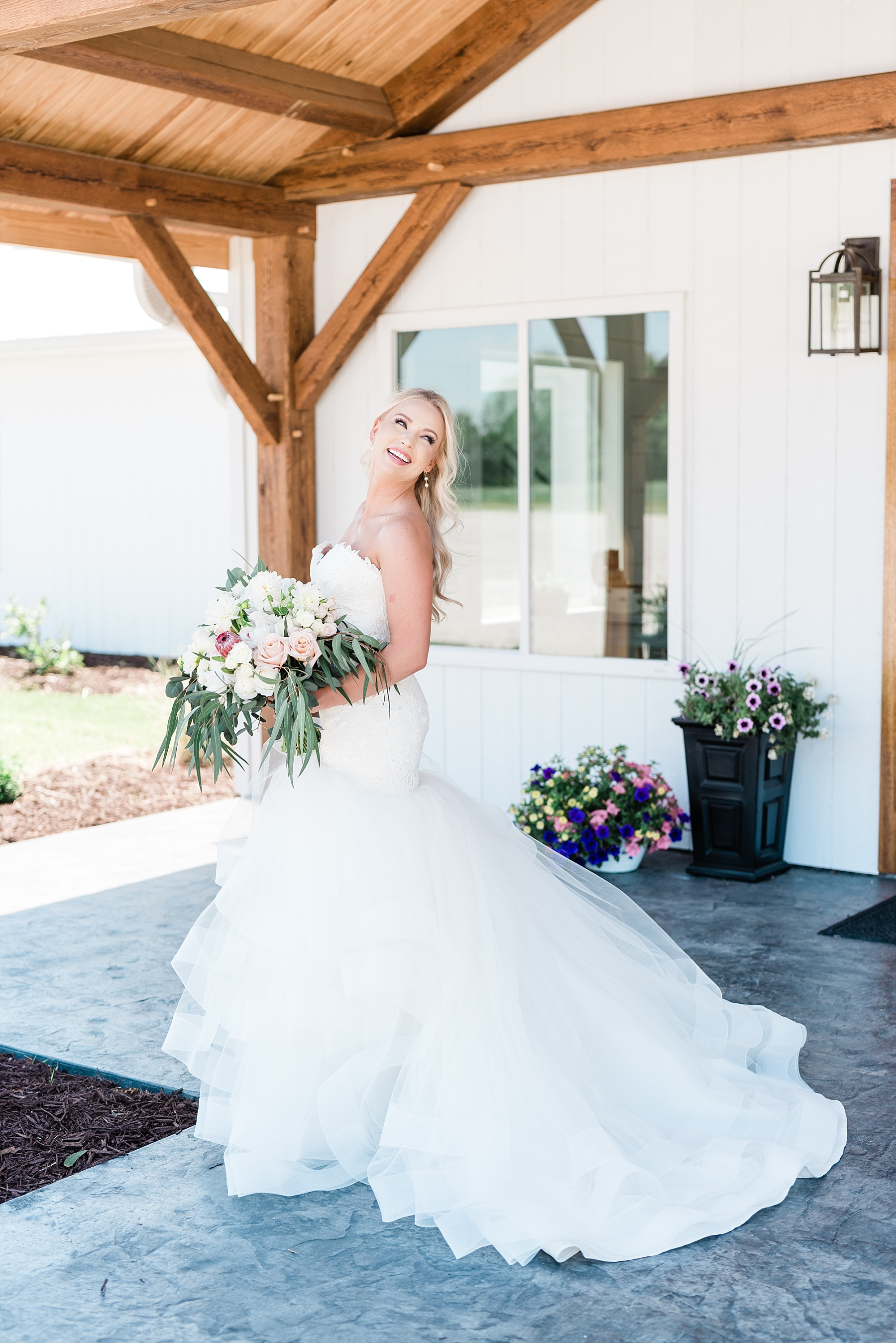 Stunning Heartfelt, Elegant, Fine Art, Chic, Outdoor Spring Wedding with Blush, Cream, Greenery, Rose Gold, and Sequins at Emerson Fields Venue by Kelsi Kliethermes Photography_0021.jpg