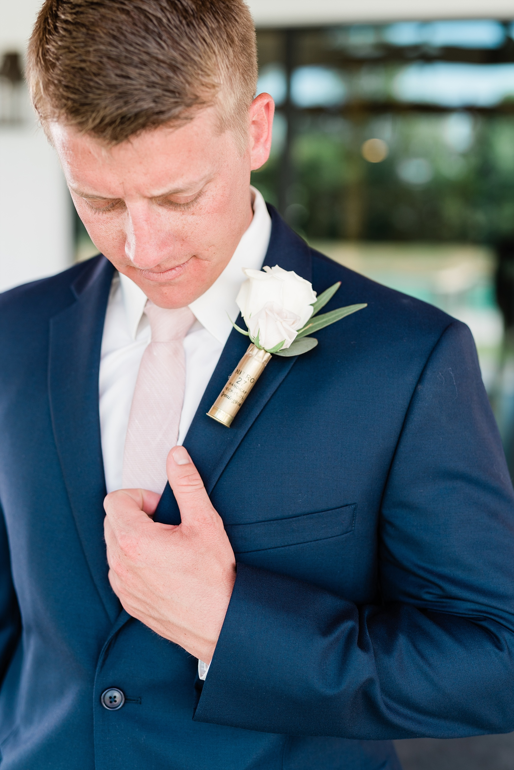Stunning Heartfelt, Elegant, Fine Art, Chic, Outdoor Spring Wedding with Blush, Cream, Greenery, Rose Gold, and Sequins at Emerson Fields Venue by Kelsi Kliethermes Photography_0032.jpg