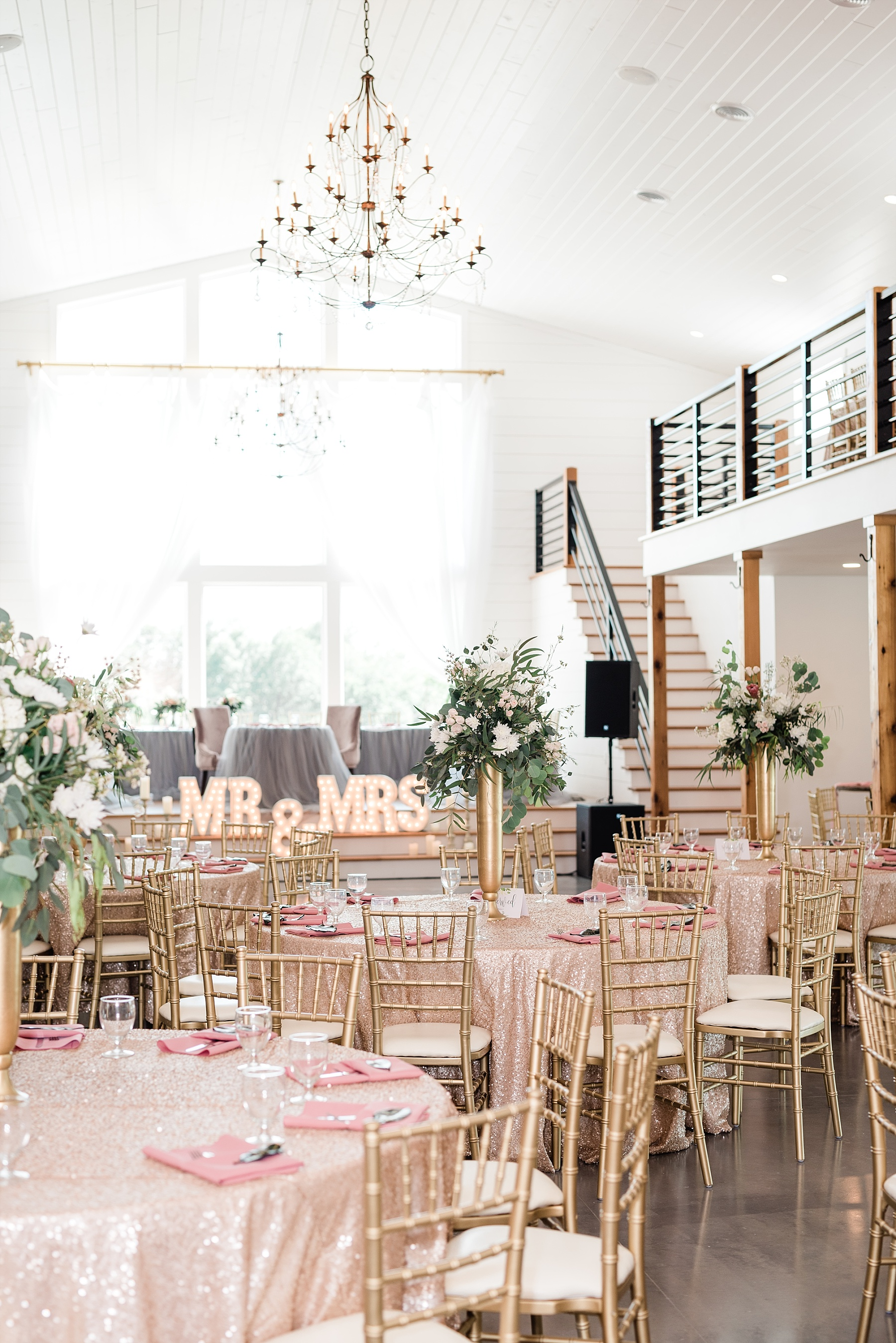 Stunning Heartfelt, Elegant, Fine Art, Chic, Outdoor Spring Wedding with Blush, Cream, Greenery, Rose Gold, and Sequins at Emerson Fields Venue by Kelsi Kliethermes Photography_0034.jpg