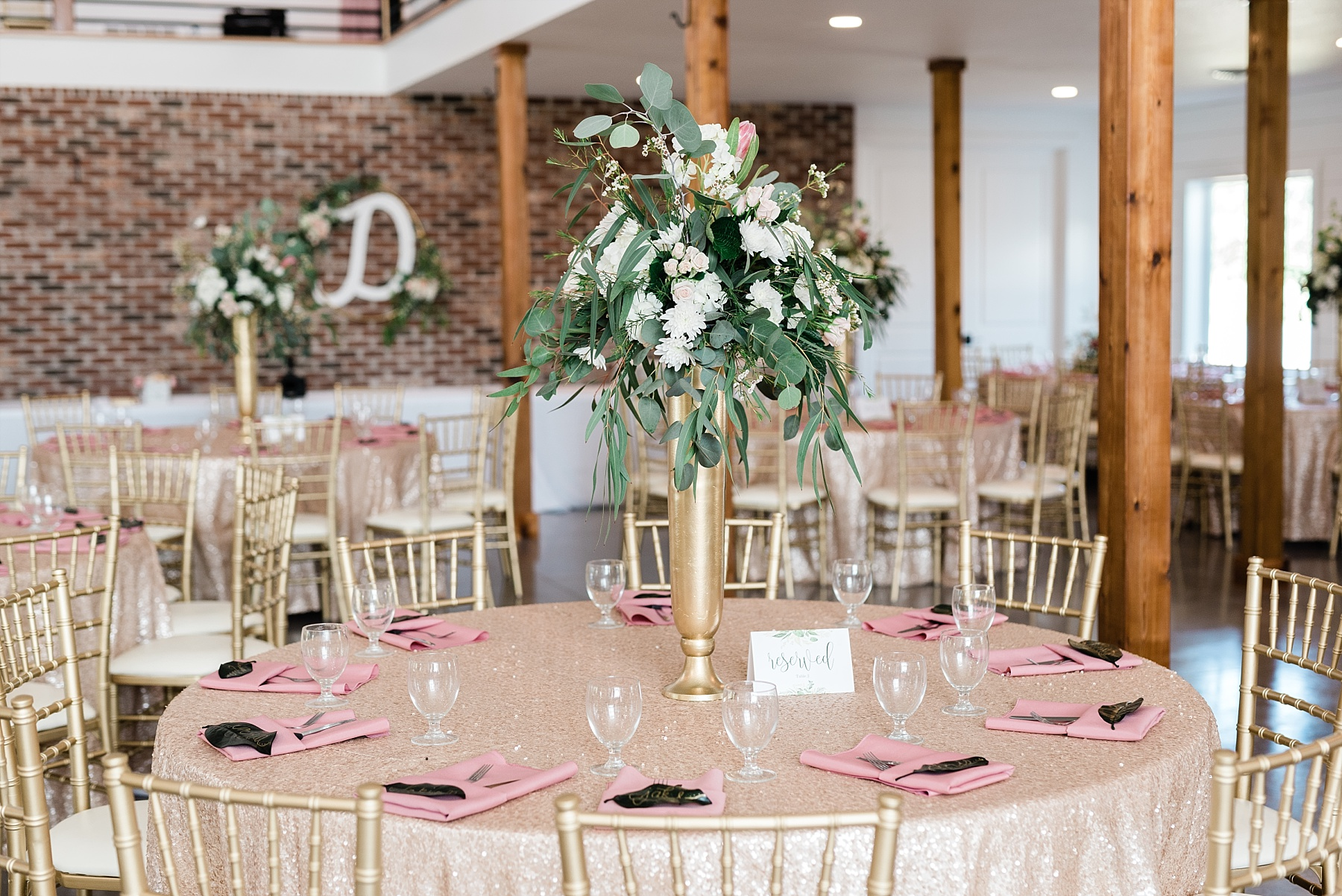 Stunning Heartfelt, Elegant, Fine Art, Chic, Outdoor Spring Wedding with Blush, Cream, Greenery, Rose Gold, and Sequins at Emerson Fields Venue by Kelsi Kliethermes Photography_0039.jpg