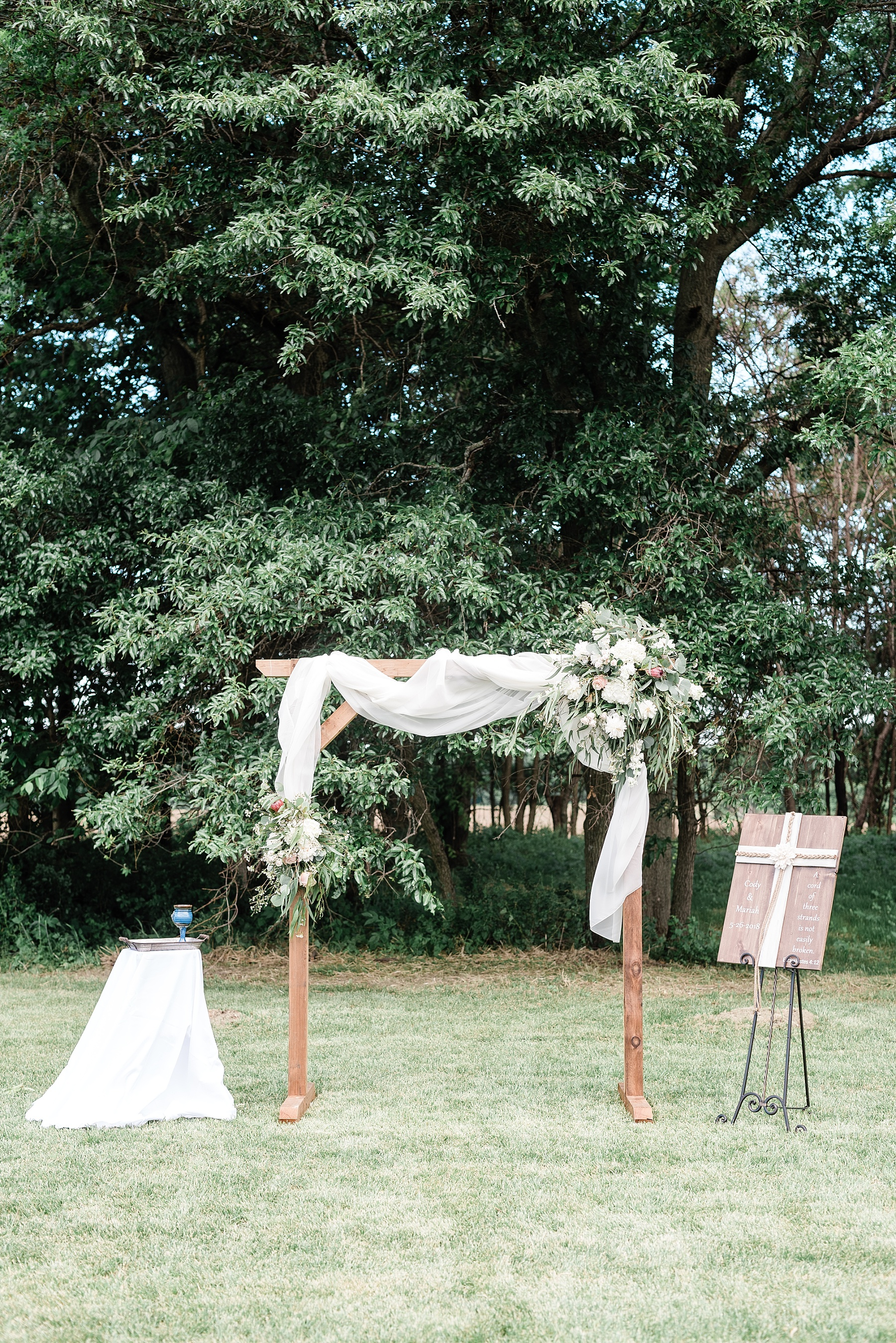 Stunning Heartfelt, Elegant, Fine Art, Chic, Outdoor Spring Wedding with Blush, Cream, Greenery, Rose Gold, and Sequins at Emerson Fields Venue by Kelsi Kliethermes Photography_0044.jpg