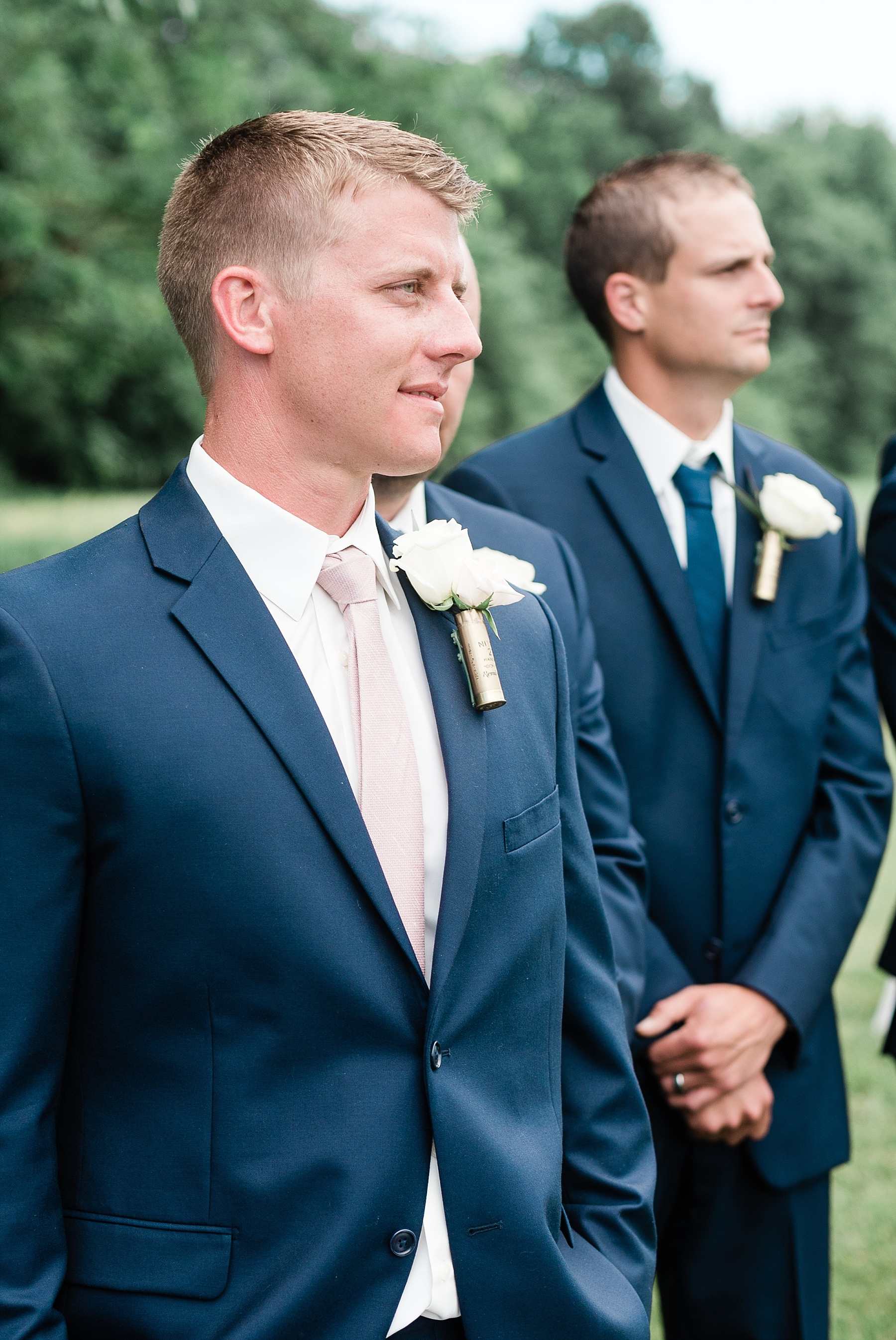 Stunning Heartfelt, Elegant, Fine Art, Chic, Outdoor Spring Wedding with Blush, Cream, Greenery, Rose Gold, and Sequins at Emerson Fields Venue by Kelsi Kliethermes Photography_0046.jpg