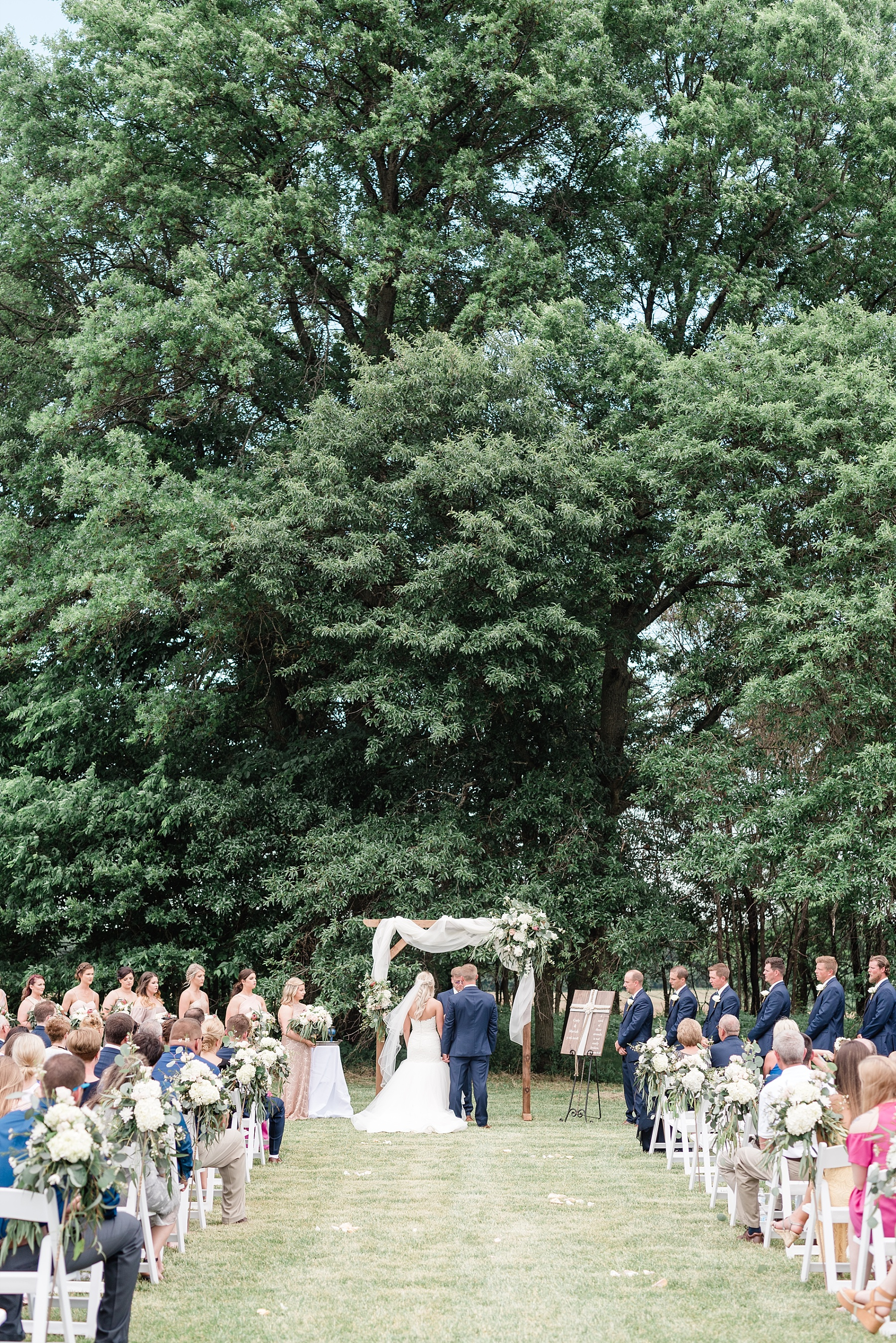 Stunning Heartfelt, Elegant, Fine Art, Chic, Outdoor Spring Wedding with Blush, Cream, Greenery, Rose Gold, and Sequins at Emerson Fields Venue by Kelsi Kliethermes Photography_0051.jpg