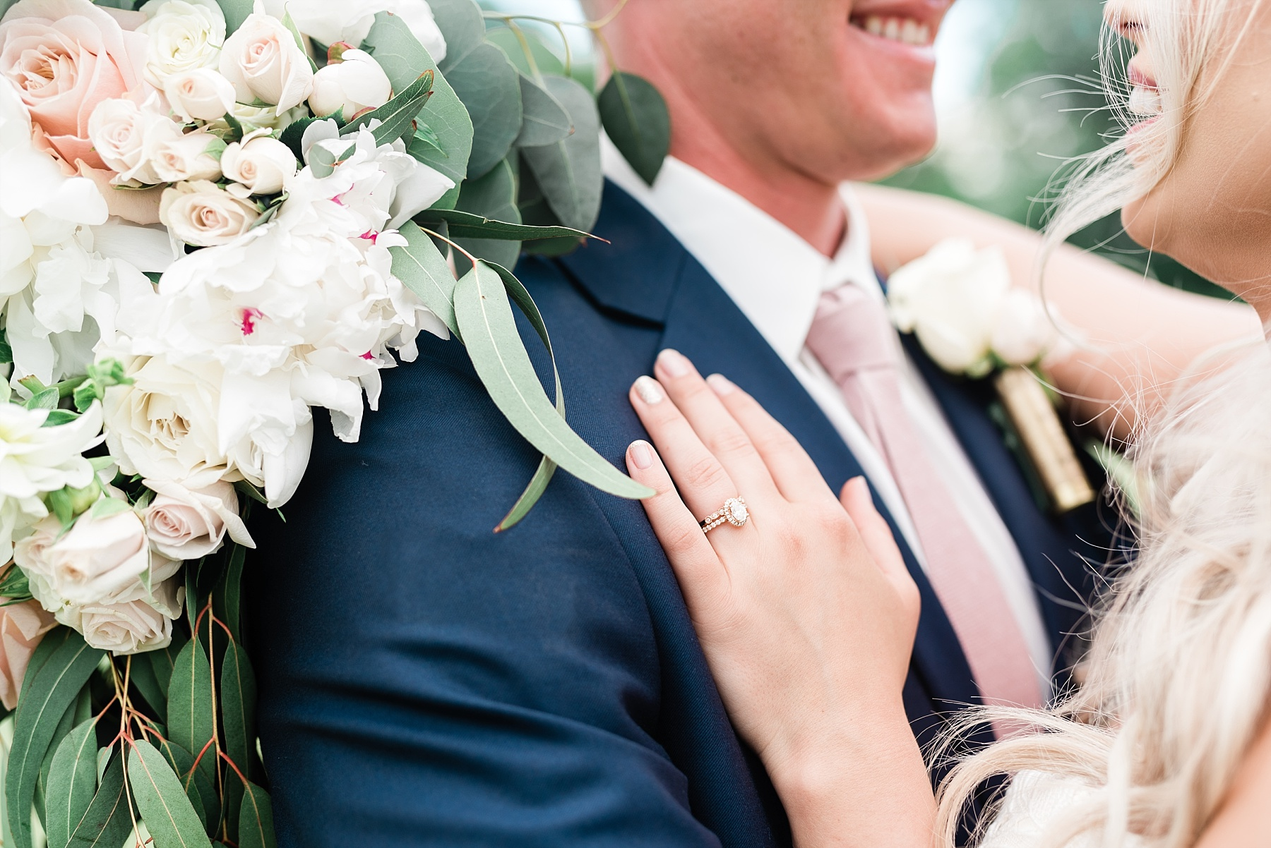Stunning Heartfelt, Elegant, Fine Art, Chic, Outdoor Spring Wedding with Blush, Cream, Greenery, Rose Gold, and Sequins at Emerson Fields Venue by Kelsi Kliethermes Photography_0057.jpg