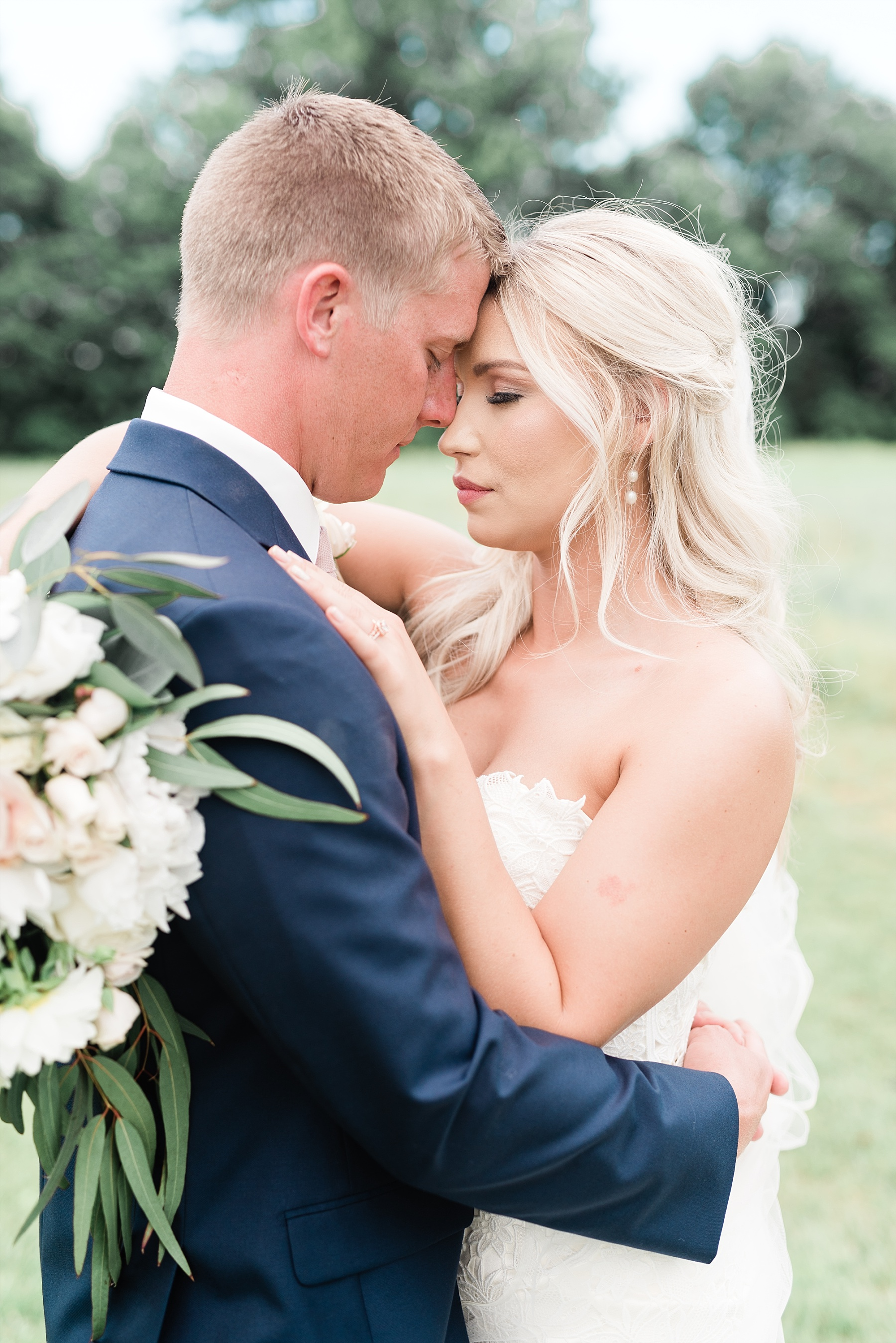 Stunning Heartfelt, Elegant, Fine Art, Chic, Outdoor Spring Wedding with Blush, Cream, Greenery, Rose Gold, and Sequins at Emerson Fields Venue by Kelsi Kliethermes Photography_0059.jpg